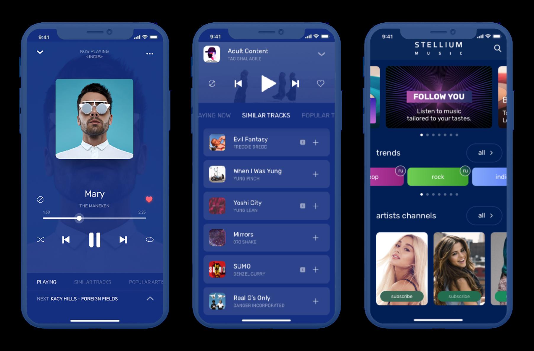 STELLIUM streaming app