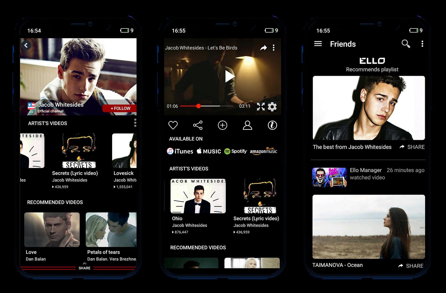 ELLO streaming app